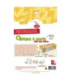 Mausefallen-Kit - 6 Stück - La droguerie écologique