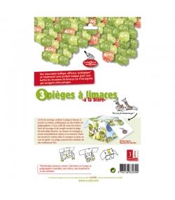 Schneckenfallen-Kit - 3 Stück - La droguerie écologique