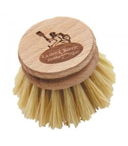 Recharge tête de la brosse vaisselle fibre - 1 pièce - La droguerie écologique