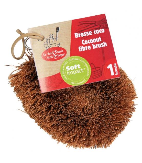 Brosse coco multi-usage - 1 pièce - La droguerie écologique
