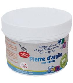 Pierre d'argile avec éponge - 500g - La droguerie écologique