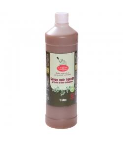 Flüssige schwarze BIO-Seife Olivenöl - 1l - La droguerie écologique