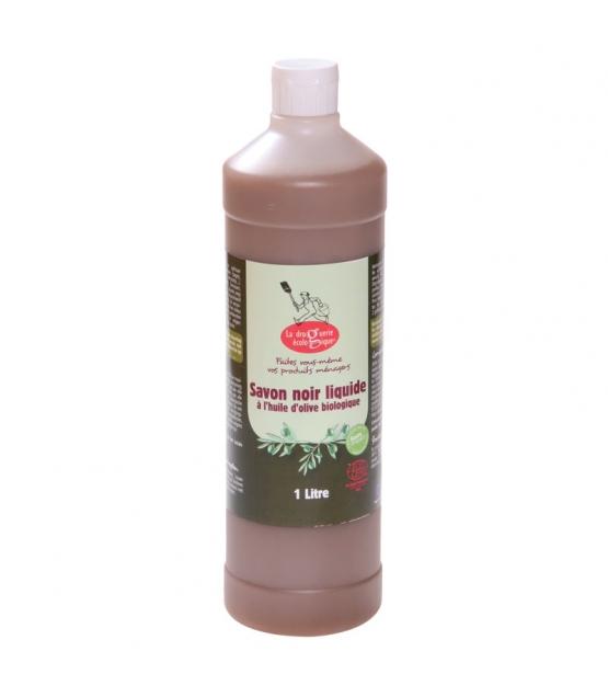Savon noir liquide huile d'olive BIO - 1l - La droguerie écologique