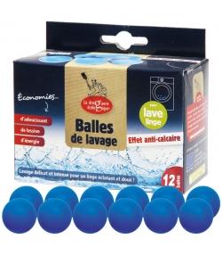 Balles de lavage anti-calcaire - 12 pièces - La droguerie écologique