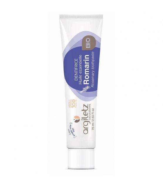 Dentifrice BIO argile verte & romarin - 75ml - Argiletz