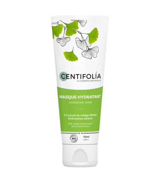 Masque hydratant BIO ginkgo biloba - 70ml - Centifolia