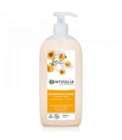 Shampooing crème cheveux secs BIO beurre d'abricot & jojoba - 500ml - Centifolia