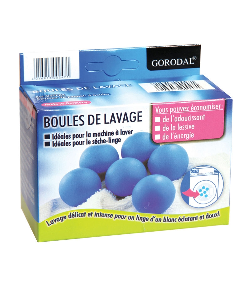 boules de lavage 6 pi ces la droguerie cologique. Black Bedroom Furniture Sets. Home Design Ideas