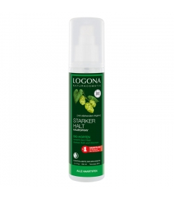 Spray fixation forte BIO houblon - 150ml - Logona