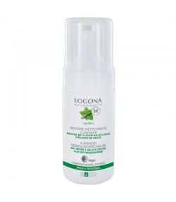 Mousse nettoyante clarifiante BIO menthe & acide salicylique - 100ml - Logona