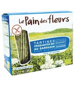 Tartines craquantes au sarrasin sans sel & sans sucre BIO – 150g – Le pain des fleurs