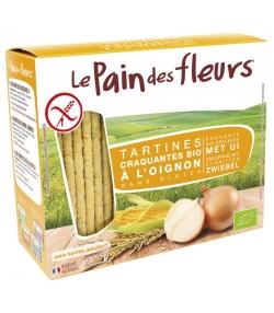 Tartines craquantes à l'oignon BIO - 150g - Le pain des fleurs