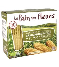 Tartines craquantes au maïs BIO - 150g - Le pain des fleurs