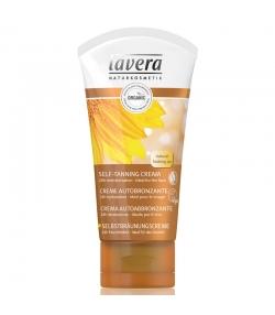 Crème autobronzante visage BIO macadamia & tournesol - 50ml - Lavera Sun