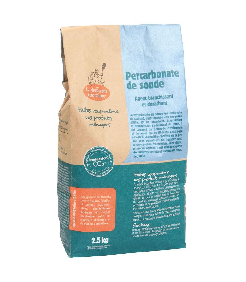 percarbonate de soude 2 5kg la droguerie copratique