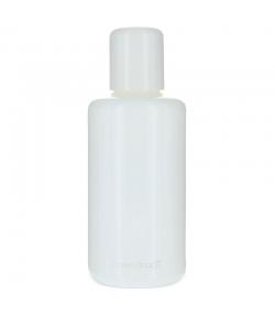 Flacon en verre blanc 100ml avec réducteur et bouchon à vis blanc - 1 pièce - Aromadis