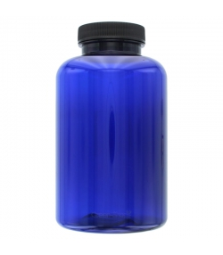 Blaue Plastikdose 500ml mit Drehverschluss - 1 Stück - Aromadis