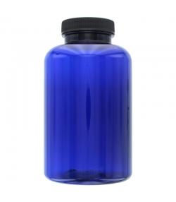 Pot en plastique bleu 500ml avec couvercle à vis - 1 pièce - Aromadis