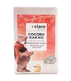 BIO-Kakaogetränk mit Honig Cocoba Instant - 400g - Claro