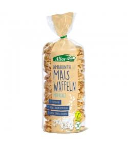 Galettes maïs amarante au sel marin BIO - 100g - Allos