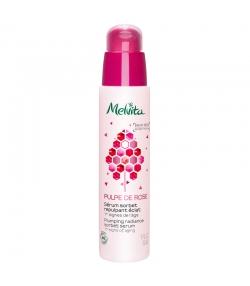Aufpolsterndes BIO-Serum für strahlende Haut Rosenblütenwasser & Rosenöl - 30ml - Melvita Pulpe de Rose