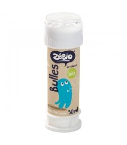 Bulles de savon BIO - 50ml - Zébio
