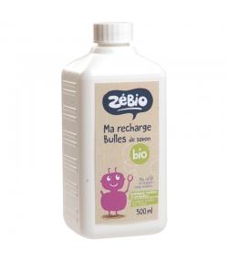 Recharge bulles de savon BIO - 500ml - Zébio