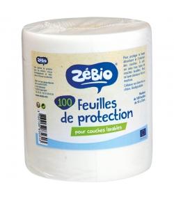 Feuilles de protection pour couches lavables - 100 pièces - Zébio