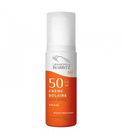 BIO-Sonnencreme für das Gesicht LSF 50 Parfümfrei - 50ml - Laboratoires de Biarritz Alga Maris