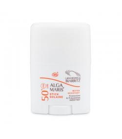 Stick solaire visage BIO IP 50 sans parfum - 25g - Laboratoires de Biarritz Alga Maris