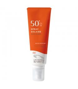 Spray solaire visage & corps BIO IP 50 sans parfum - 125ml - Laboratoires de Biarritz Alga Maris