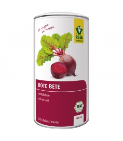 Betterave rouge en poudre BIO - 250g - Raab Vitalfood