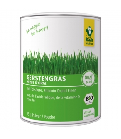 BIO-Gerstengras Pulver - 75g - Raab Vitalfood