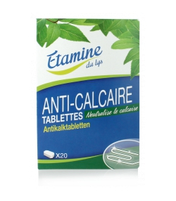 Ökologische Anti-Kalk Tabletten ohne Parfüm - 20 Tabletten - Etamine du Lys