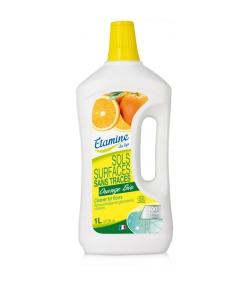 Ökologisches Reinigungsmittel streifenfrei Böden & Oberflächen Orange - 1l - Etamine du Lys