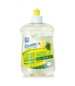 Liquide vaisselle dégraissant écologique citron & menthe - 500ml - Etamine du Lys