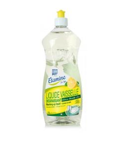 Liquide vaisselle dégraissant écologique citron & menthe - 1l - Etamine du Lys