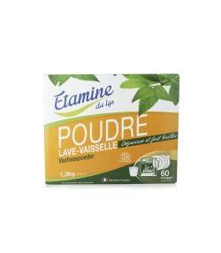 Ökologisches Geschirrspülpulver ohne Parfüm - 60 Waschgänge - 1,3kg - Etamine du Lys