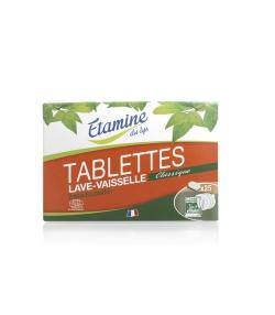 Ökologische klassische Geschirrspültabletten ohne Parfüm - 25 Tabletten - Etamine du Lys