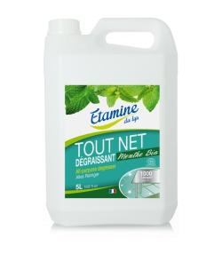 Tout Net nettoyant & dégraissant multi-usages écologique menthe - 5l - Etamine du Lys