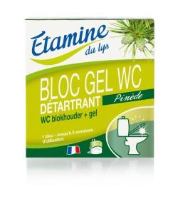 Bloc gel WC détartrant écologique pin & eucalyptus - 50ml - Etamine du Lys
