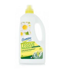 Ökologisches Flüssigwaschmittel Hypoallergen Kamille - 44 Waschgänge - 2l - Etamine du Lys