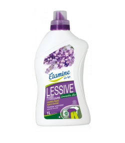 Ökologisches Flüssigwaschmittel Lavandin - 20 Waschgänge - 1l - Etamine du Lys