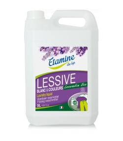 Ökologisches Flüssigwaschmittel Lavandin - 100 Waschgänge - 5l - Etamine du Lys