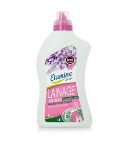 Ökologisches Waschmittel Wolle & empfindliche Wäsche Lavandin - 40 Waschgänge - 1l - Etamine du Lys