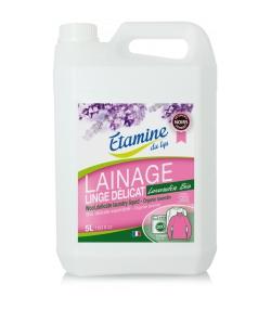 Ökologisches Waschmittel Wolle & empfindliche Wäsche Lavandin - 200 Waschgänge - 5l - Etamine du Lys
