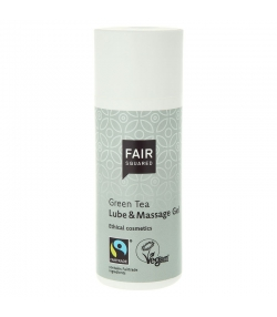 BIO-Gleit- & Massage-Gel grüner Tee - 150ml - Fair Squared