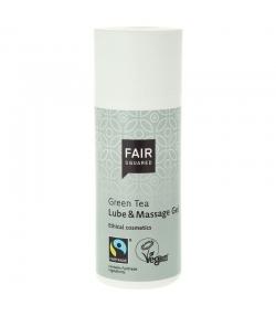 BIO-Gleit- & Massage-Gel grüner Tee - 150ml - Fair Squared