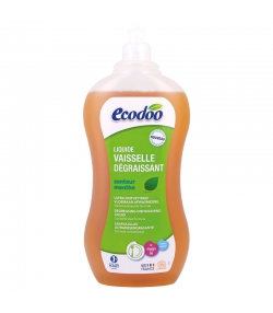 Ökologisches fettlösendes Geschirrspülmittel Minze - 1l - Ecodoo