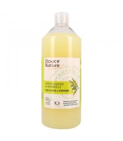 Natürliche Marseiller Flüssigseife Olivenöl & Eisenkraut - 1l - Douce Nature
